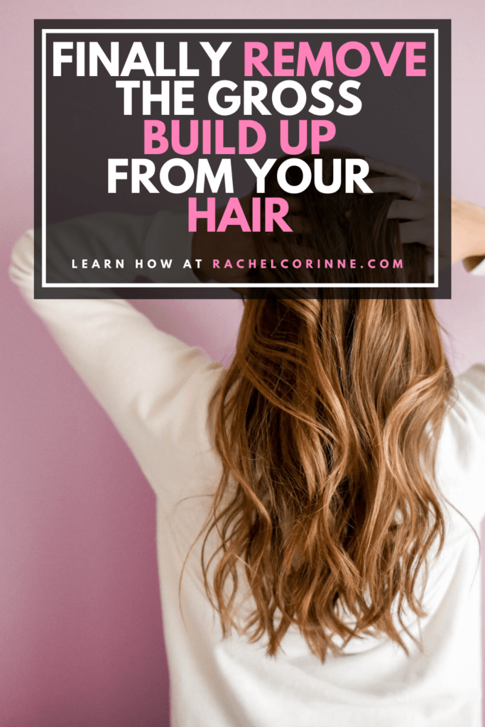 how to remove waxy buildup from hair