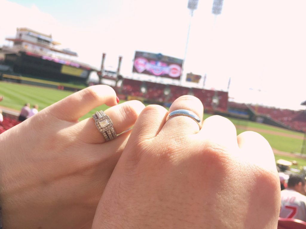 Married on Cincinnati Reds Opening Day