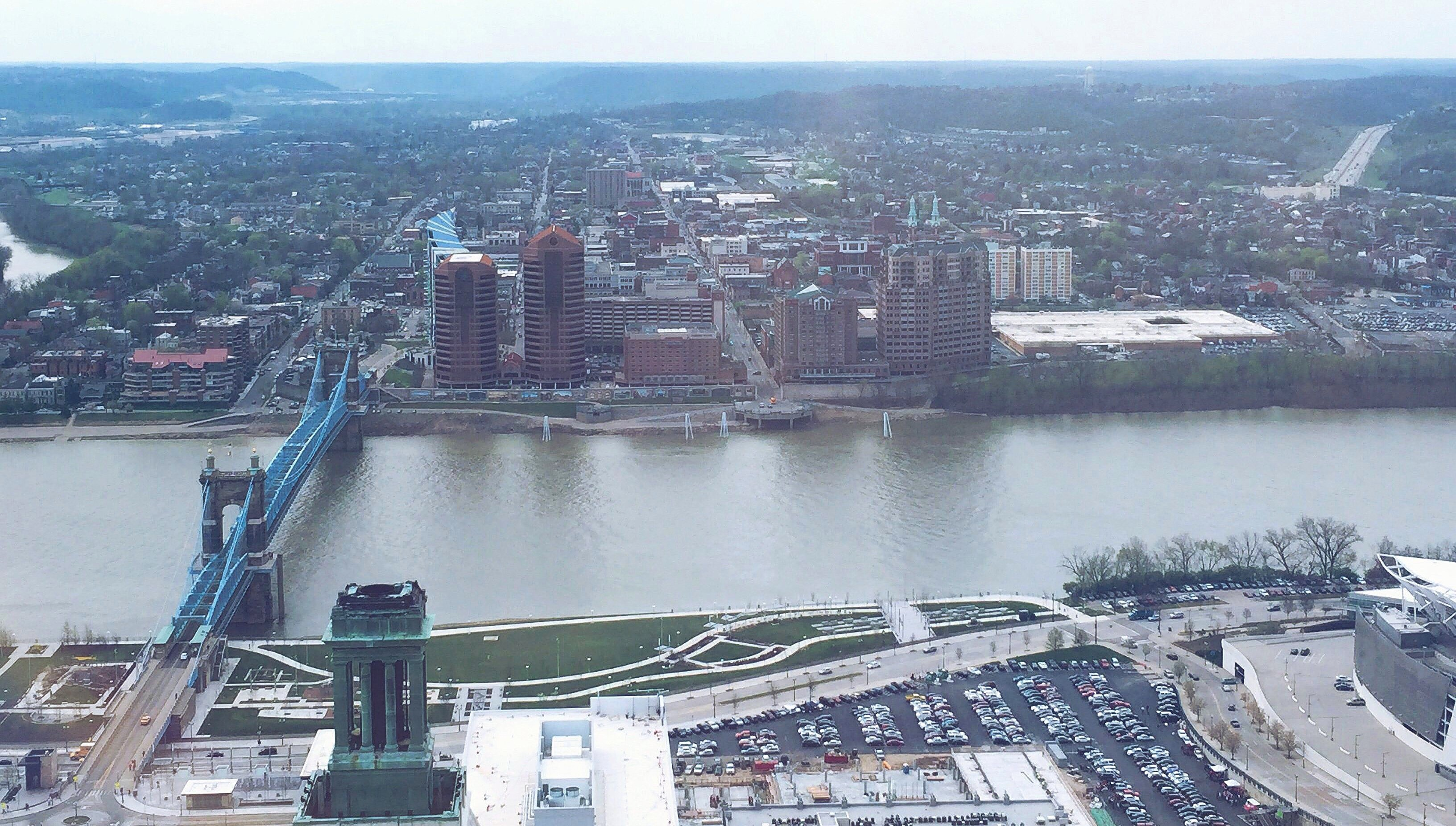 Cincinnati Skyline From Carew Tower