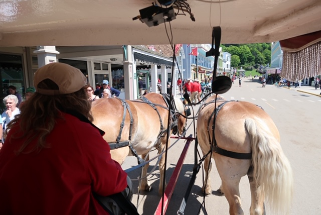 Horse And Carriage Tour On Mackinac Island