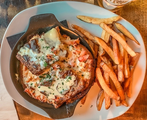 fifty west hot brown