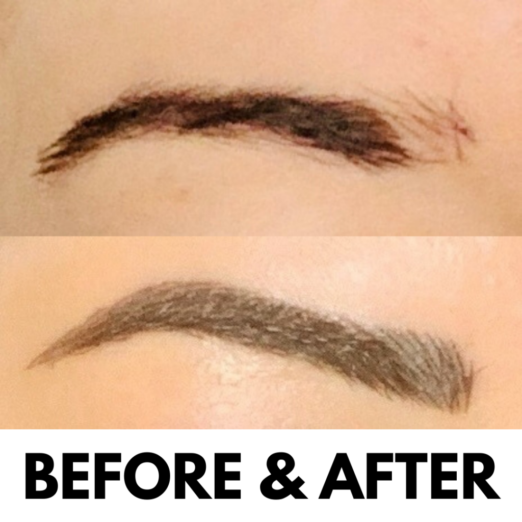 microblading before and after pictures