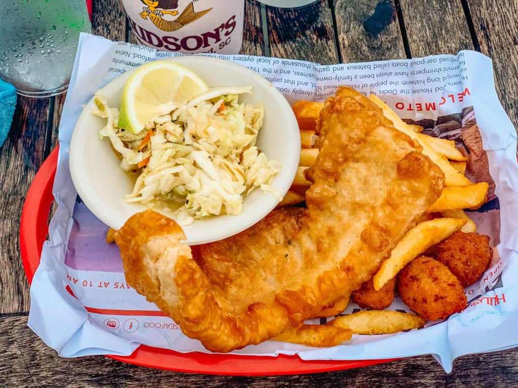 hudson's fish n chips