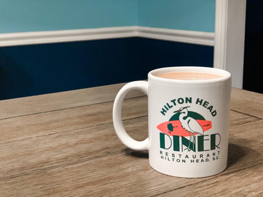 hilton head diner coffee mug