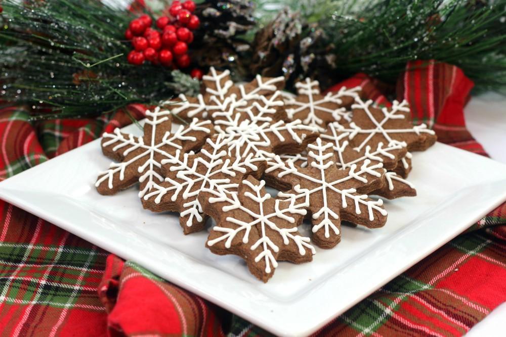 brownie snowflake sugar cookies