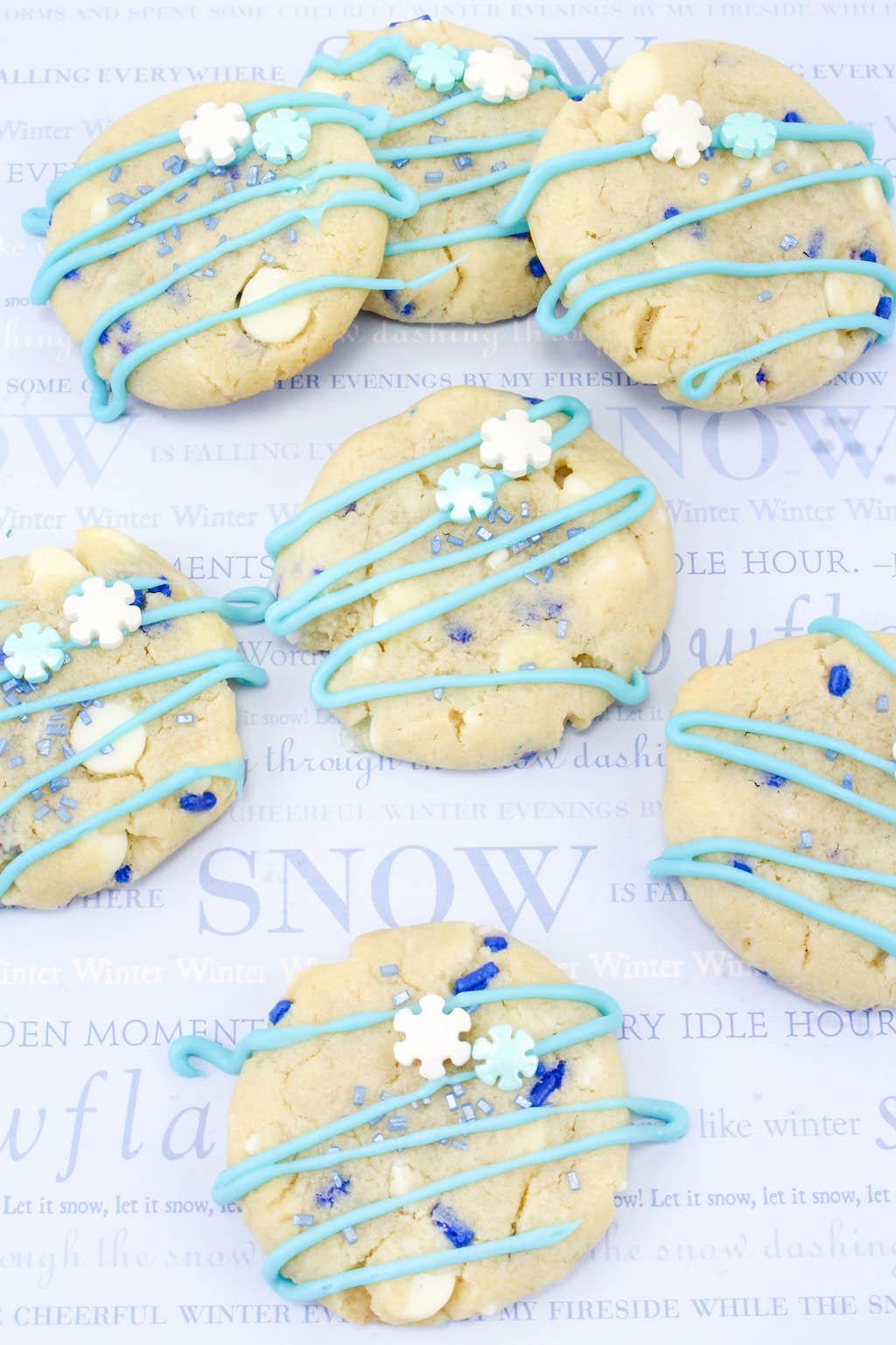 frozen blizzard cookies