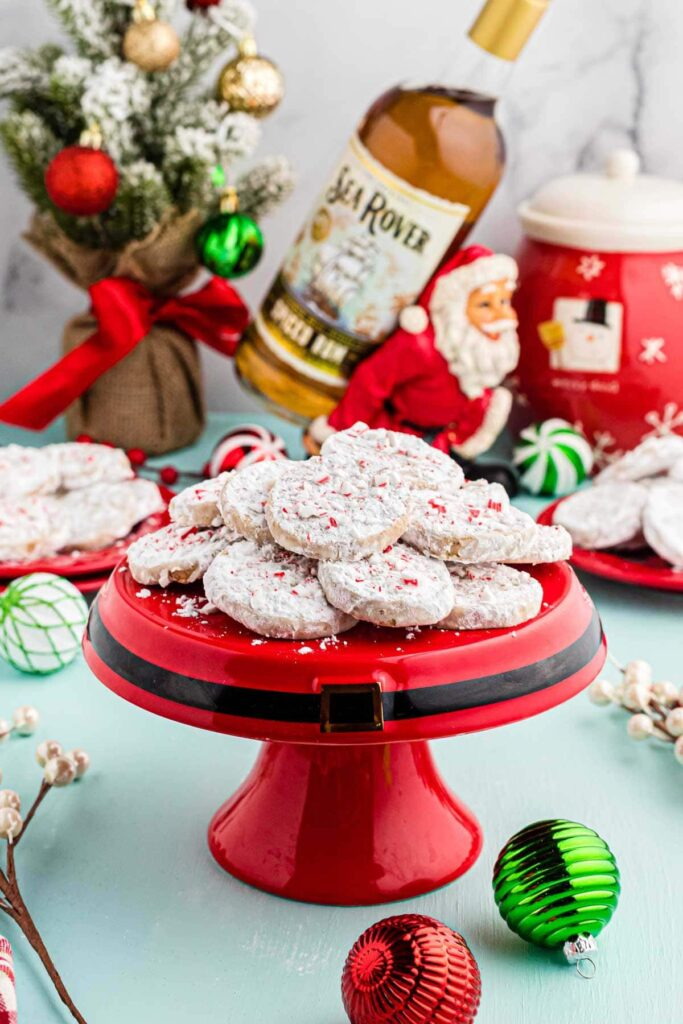 spiced rum slice and bake cookies